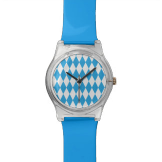 Oktoberfest pattern with fabric texture watch