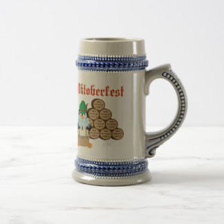 Oktoberfest Penguin Mug