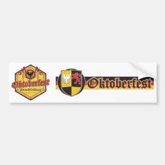 Oktoberfest - Pentagon Design Bumper Sticker
