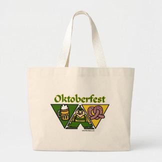 Oktoberfest Pretzel Tote Bag