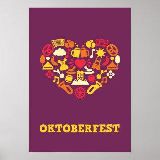 Oktoberfest Print (purple)