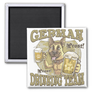 Oktoberfest Property of German Drinking Team Magnet