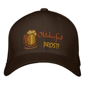 Oktoberfest Prost! Beer Festival Embroidered Hats