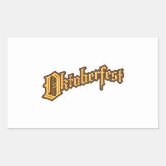 Oktoberfest Rectangular Sticker
