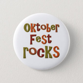 Oktoberfest Rocks 6 Cm Round Badge