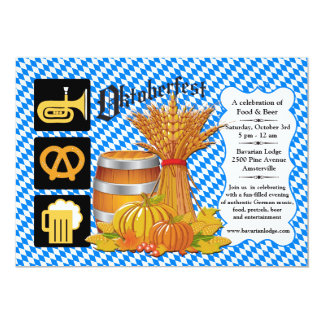 Oktoberfest Season Invitation