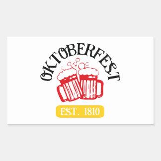 Oktoberfest Rectangular Stickers