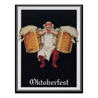 Oktoberfest Vintage poster Poster