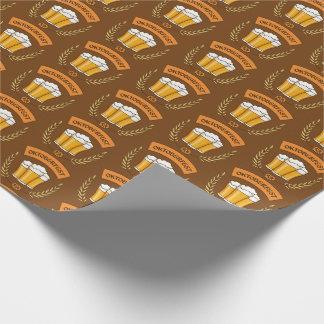 Oktoberfest wrapping paper