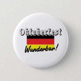 Oktoberfest Wunderbar 6 Cm Round Badge