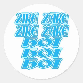 Oktoberfest Zike Zake Stickers