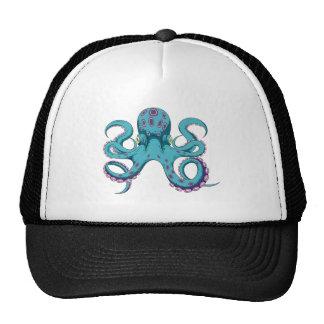 Oktopus Krake octopus kraken Baseballkappen