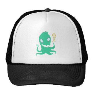 Oktopus Krake octopus kraken Truckermützen