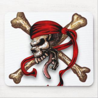 Ol Pirate Skull Mouse Mat