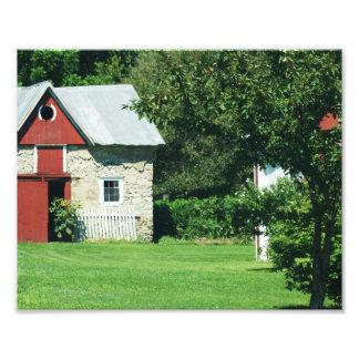 'Ol Stone Barn 10 x 8 Photographic Print