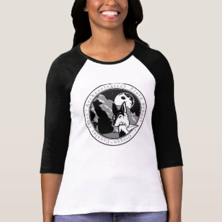 Ol Willard the Coyote round design Connley Caves T Shirts