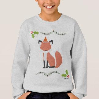 OL Xmas Kids Fox Jumper Sweatshirt