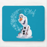 Olaf Snowflakes Mousemat