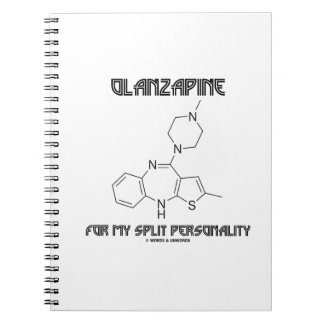 Olanzapine For My Split Personality (Chemistry) Note Books