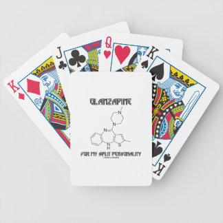 Olanzapine For My Split Personality (Chemistry) Playing Cards
