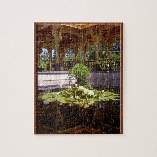 Olbrich Botanical Gardens Thai Pavilion And Garden Jigsaw Puzzles Zazzle