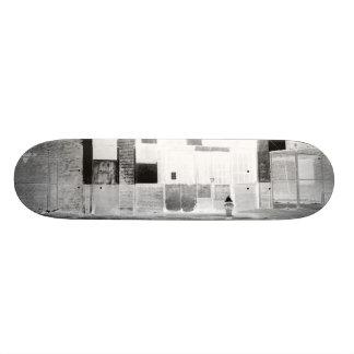 Old Abandon Building negative Skate Board Decks