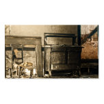 Old Abandoned Antique Furniture Business Card Templates