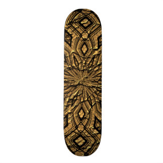 Old abstract paper pattern skate boards