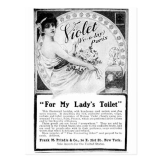 Old Advert For My Lady's Toilet Postcard