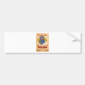 Old Advert Greece Mytilene Lesvos Olive Oil Bumper Sticker
