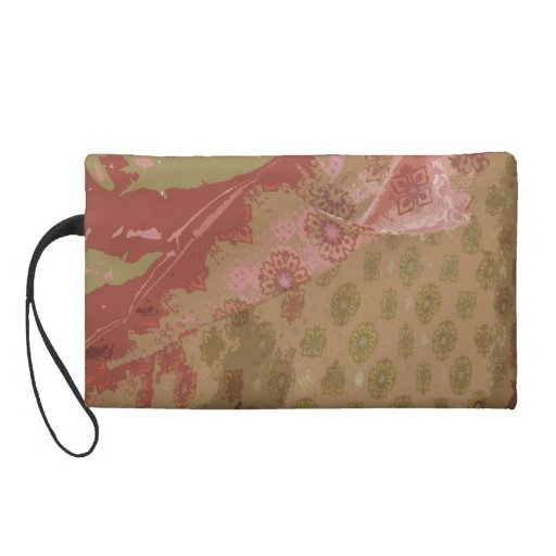 Old Afghan Tent Wristlet Clutches