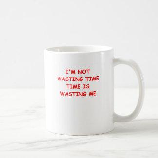 old age basic white mug