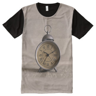 Old Alarm Clock Panel T-Shirt
