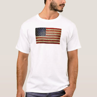 Old American Flag T-Shirt