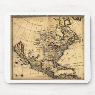 Old American Map Mouse Pad