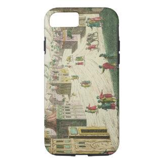 Old and New Delhi (aquatint) iPhone 8/7 Case