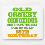 Old and Ornery 55th Birthday Gifts
