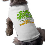Old and Ornery 55th Birthday Gifts Dog Clothing