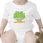 Old and Ornery 55th Birthday Gifts Romper