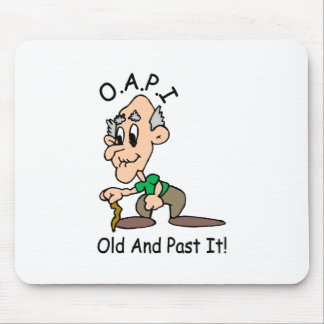 Old And Past It Mouse Mat