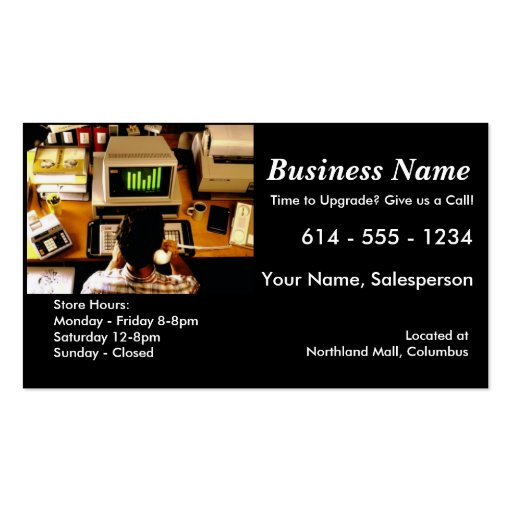 sales business cards