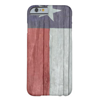 Old antique faded wood Texas Flag Barely There iPhone 6 Case