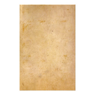 Old Antique Parchment Customized Stationery