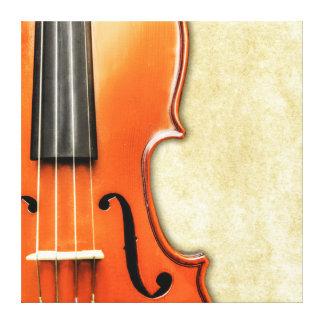 Old Antique Vintage Violin Canvas
