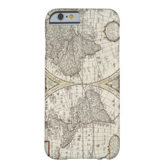 Old Antique Vintage World Map Barely There iPhone 6 Case