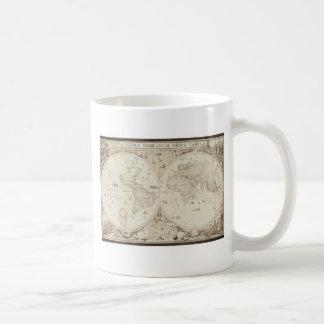 Old, Antique World Map Coffee Mug