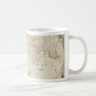Old, Antique World Map Mug