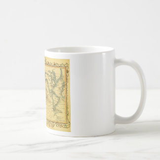 Old Antique World Map Basic White Mug