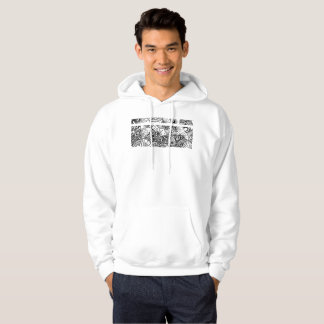 old arabesque style hoodie