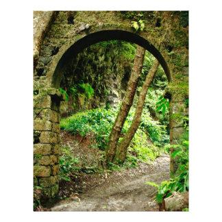 Old arch 21.5 cm x 28 cm flyer